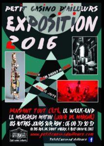 Expo 2016 @ Le Petit Casino d'Ailleurs | Ault | Nord-Pas-de-Calais Picardie | France