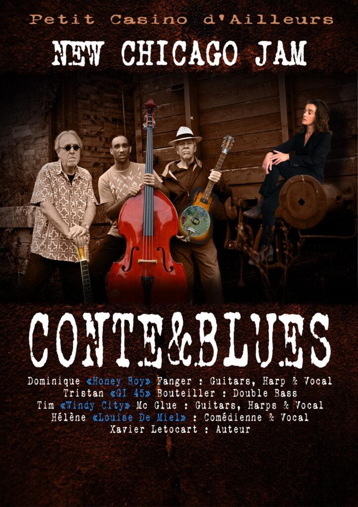affiche Conte&Blues